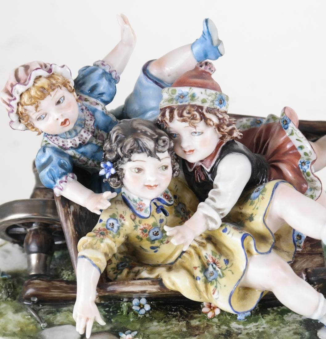 Italian Ceramic Children Group - 2