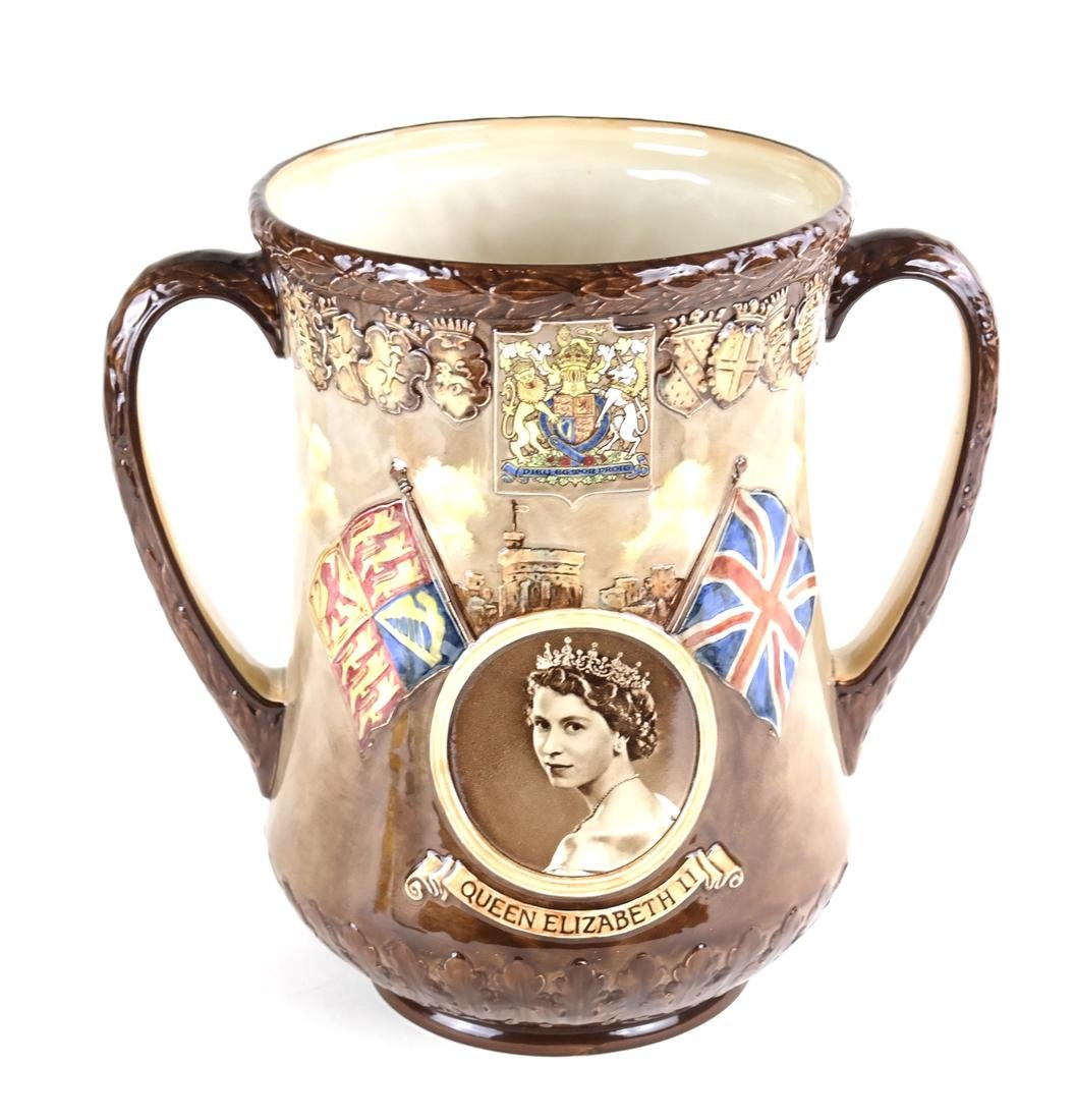 Royal Doulton Commemorative Cup