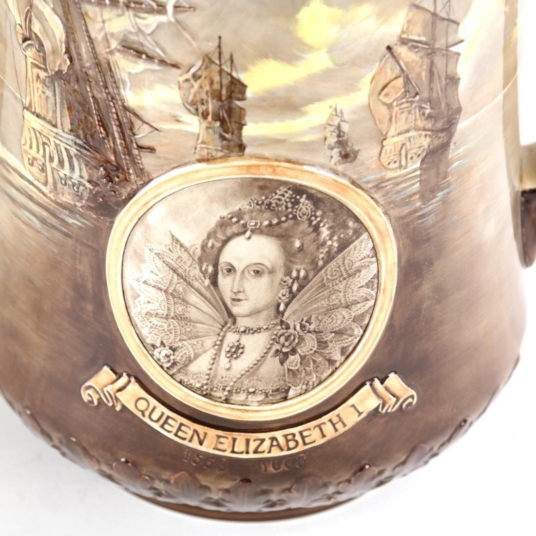 Royal Doulton Commemorative Cup - 7