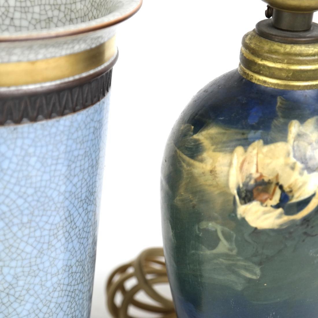 Royal Copenhagen Vase and Lamp - 2