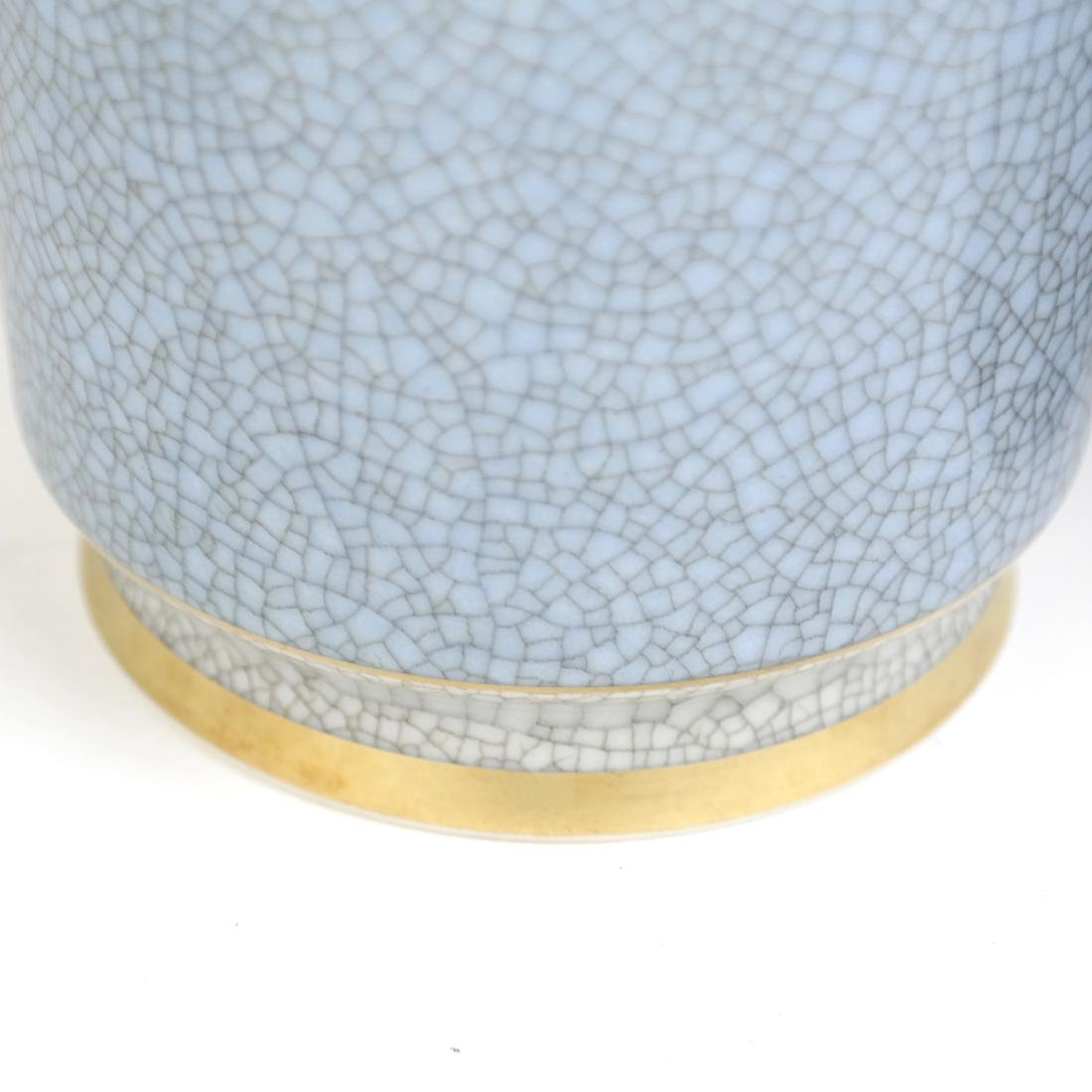 Royal Copenhagen Vase and Lamp - 4