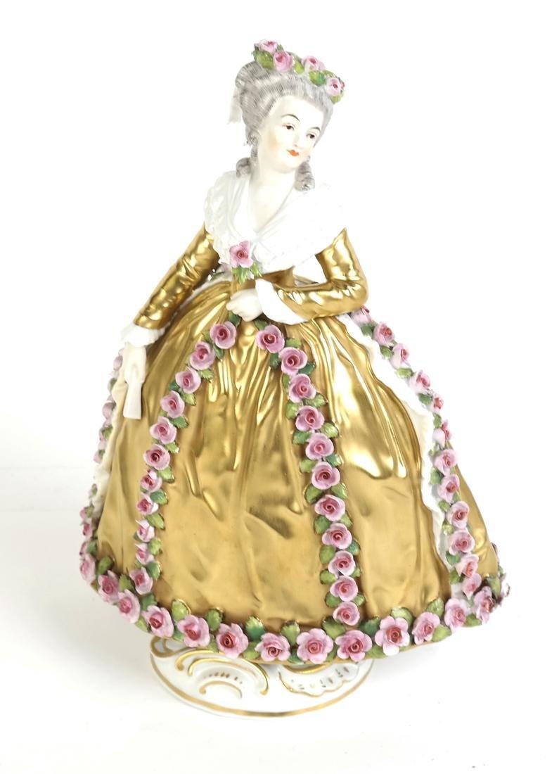 Porcelain Sculpture of a Woman