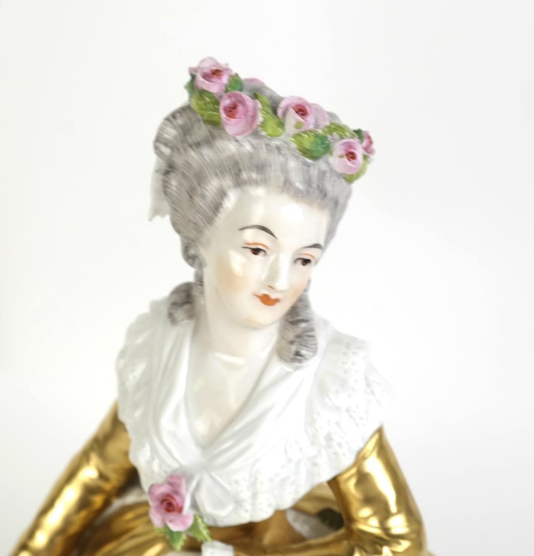 Porcelain Sculpture of a Woman - 2