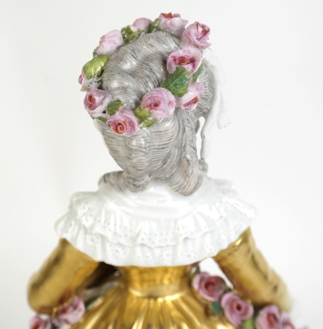 Porcelain Sculpture of a Woman - 5