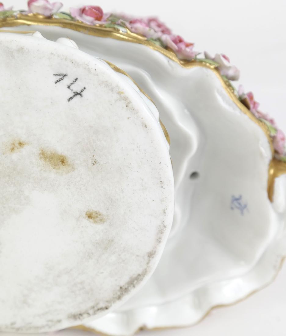 Porcelain Sculpture of a Woman - 8
