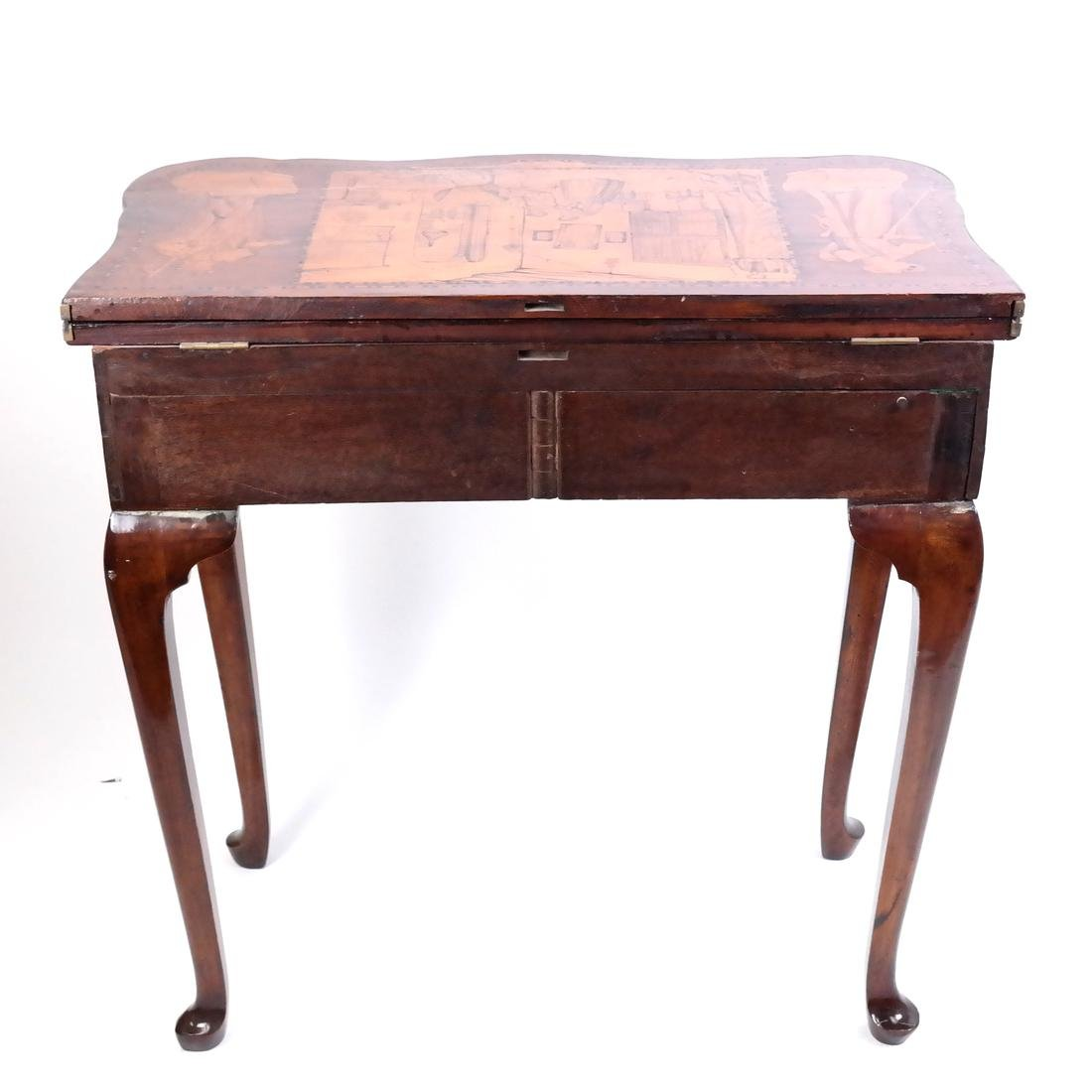 Antique Continental Games Table - 2