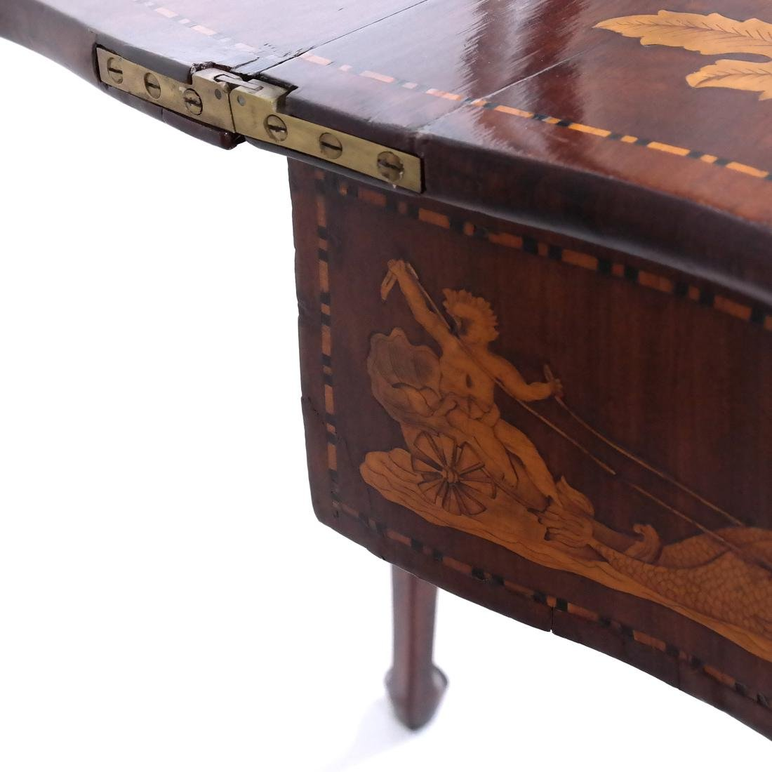 Antique Continental Games Table - 8