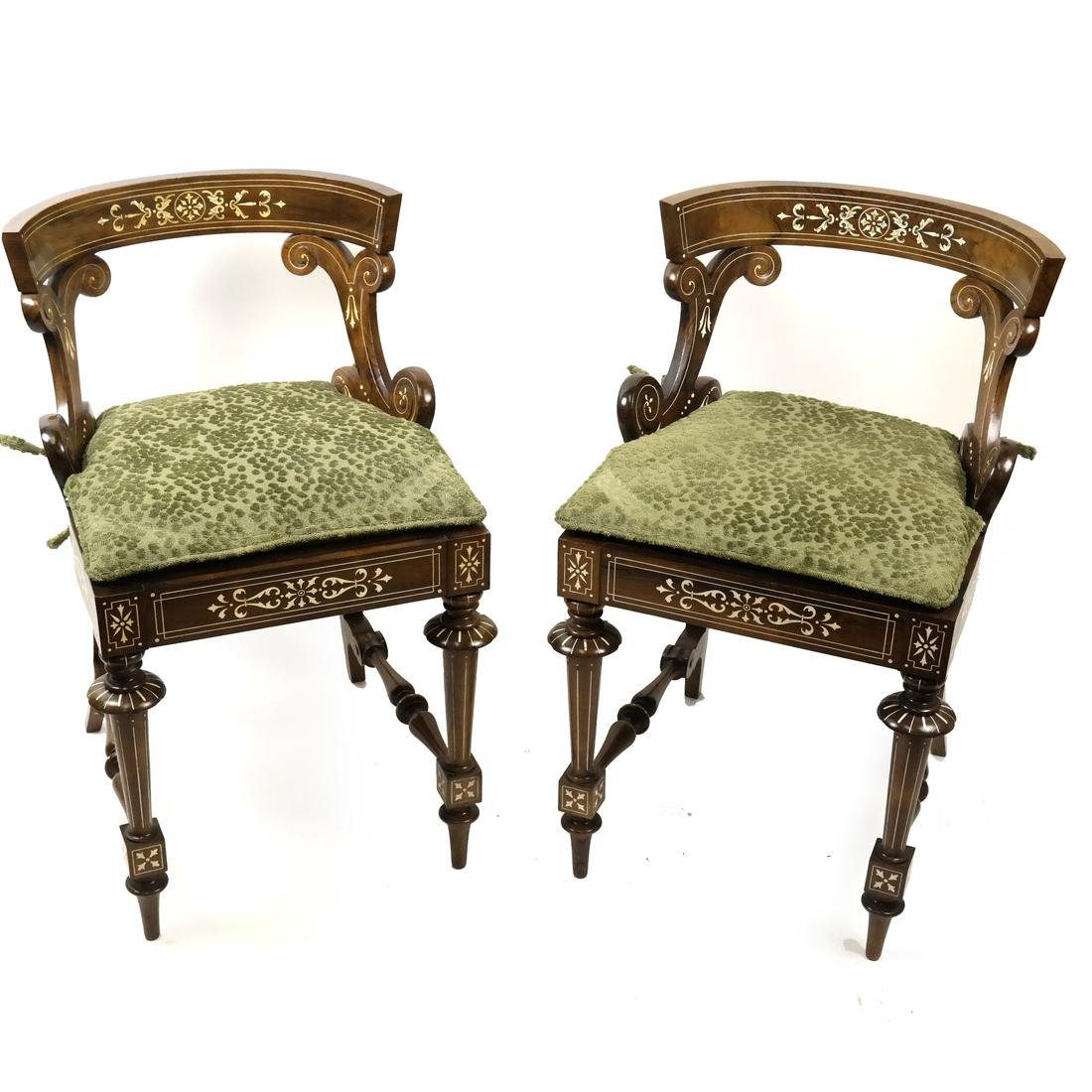 Pair of Continental Side Chairs