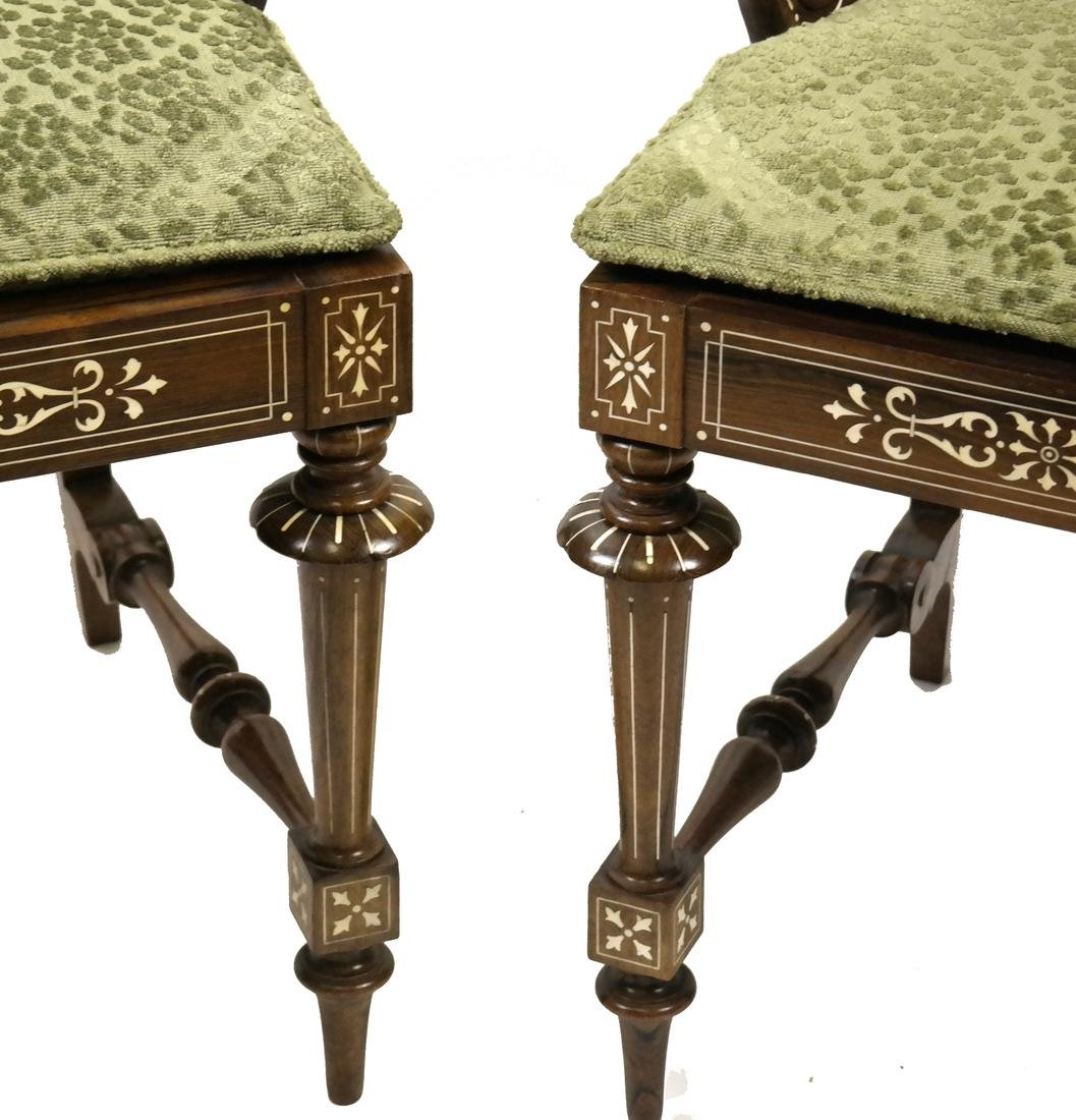 Pair of Continental Side Chairs - 2