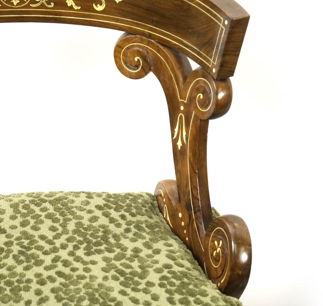 Pair of Continental Side Chairs - 4
