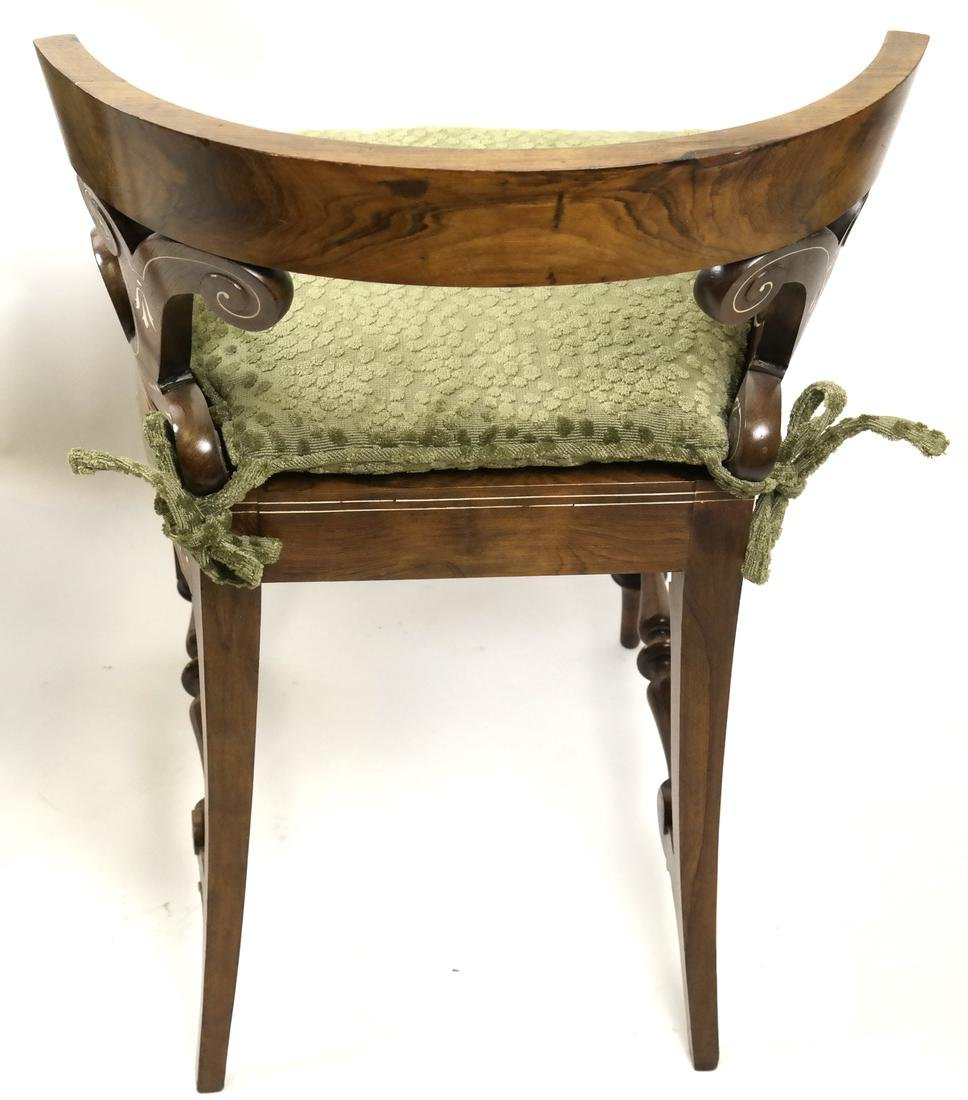 Pair of Continental Side Chairs - 7