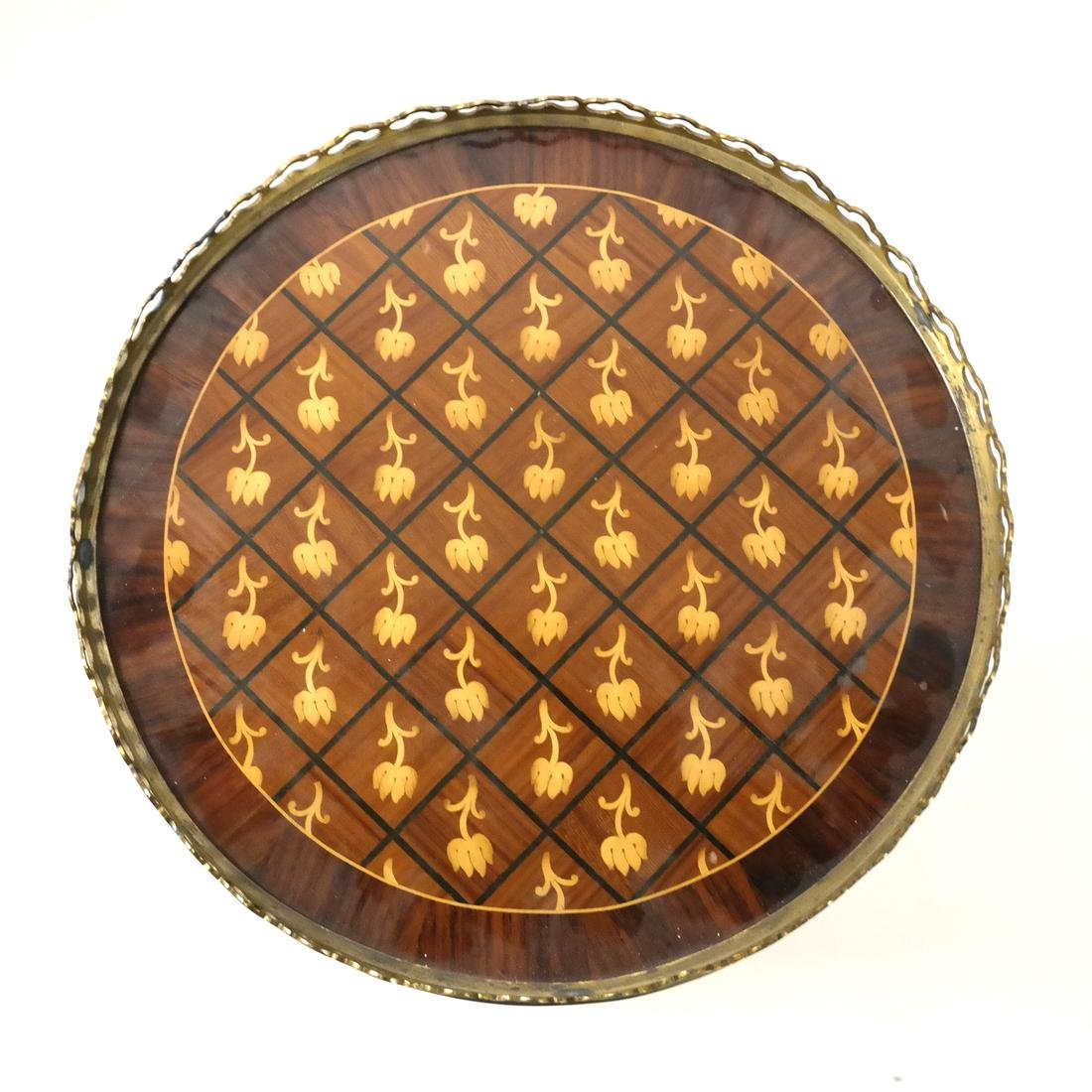 20th Century Parquetry Stand - 2