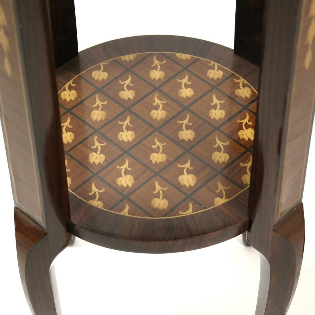 20th Century Parquetry Stand - 5