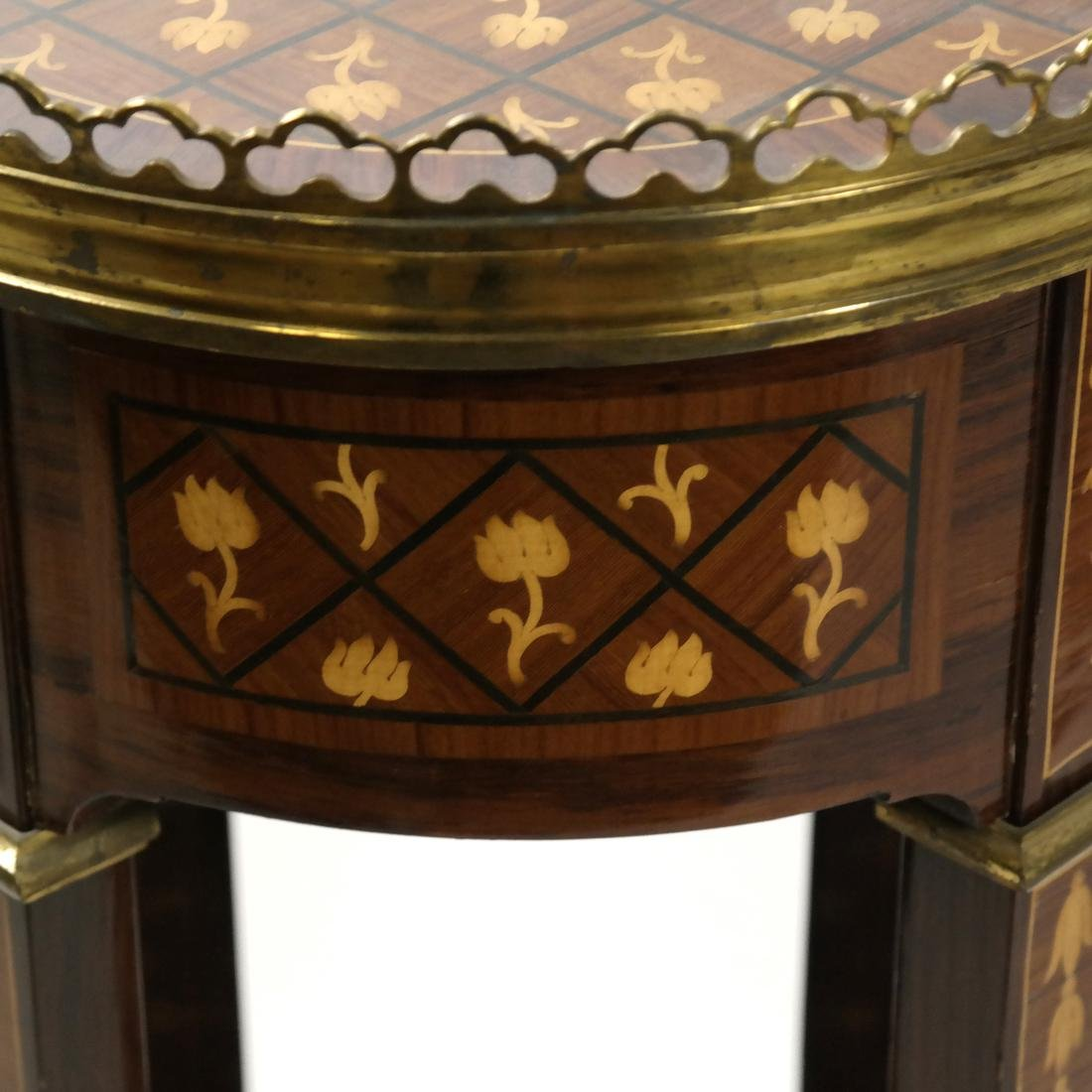 20th Century Parquetry Stand - 6