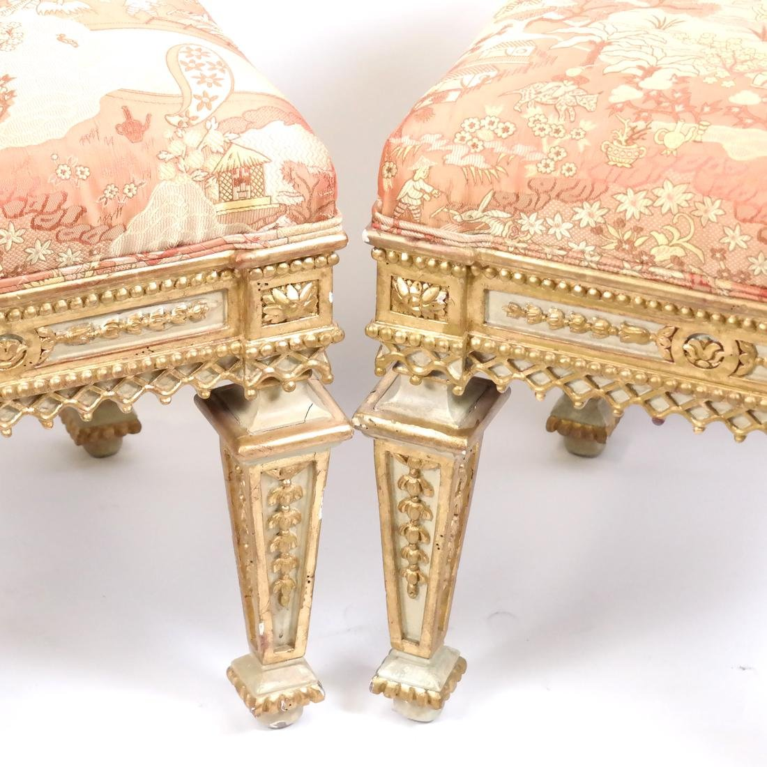 Pair of 19th Century Classical Stools - 2