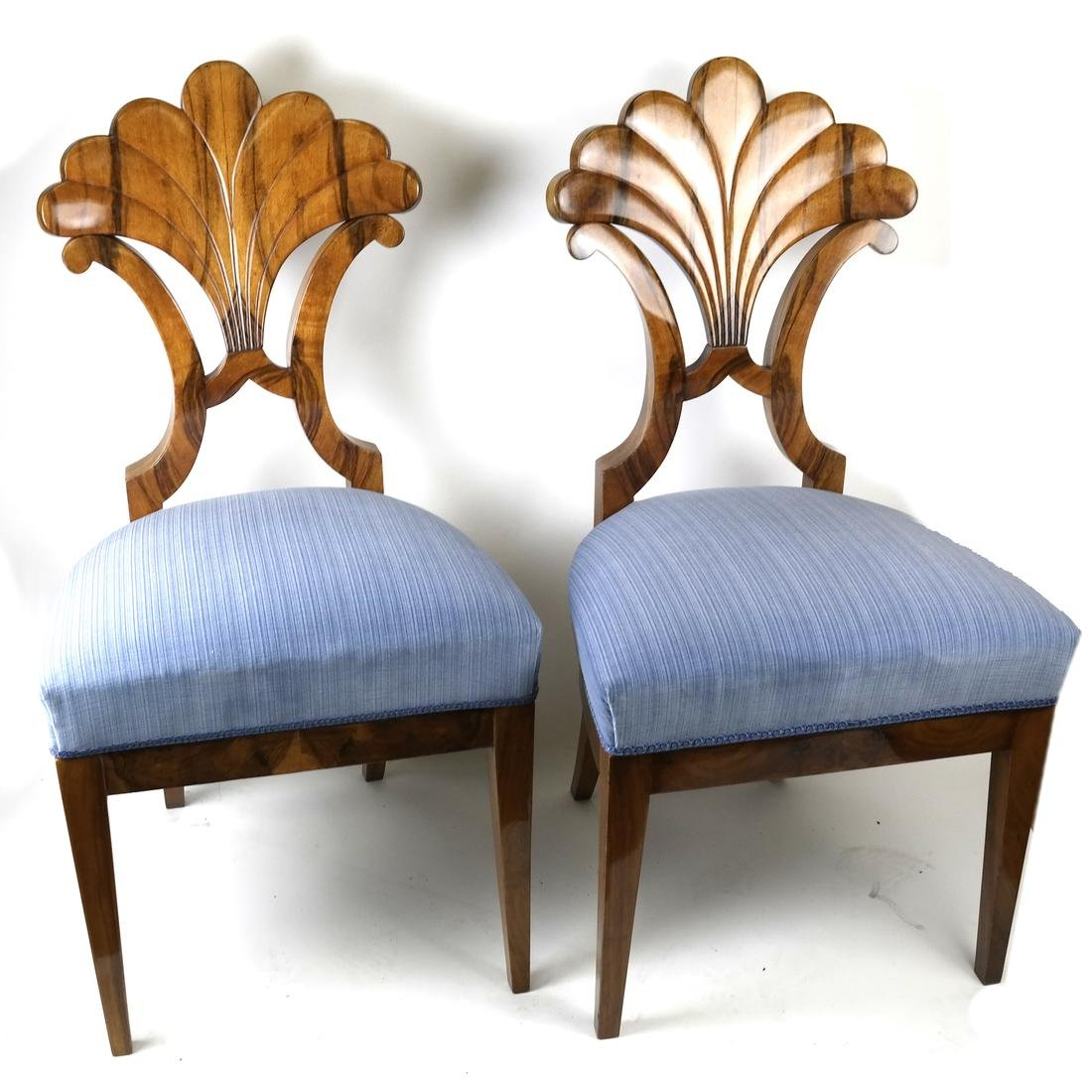Pair of Deco Side Chairs