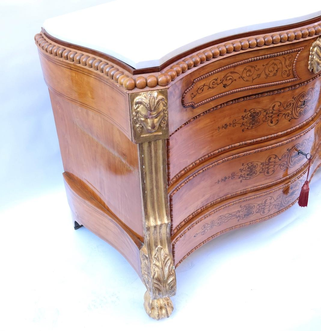 Marble Top Italian Neoclassical Commode - 6