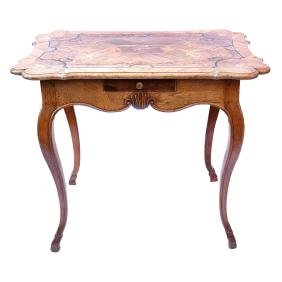 Continental Rococo-Style Games Table