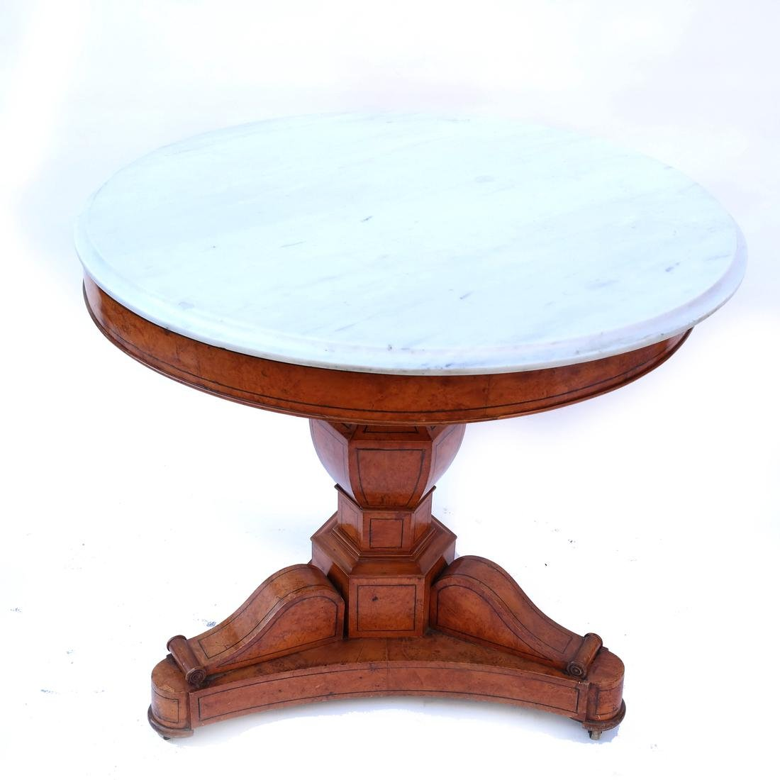 Marble Top Center Table