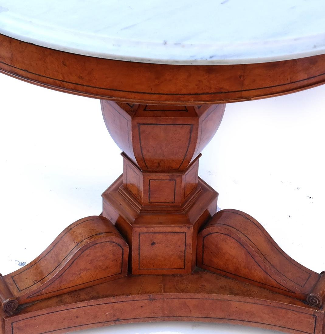 Marble Top Center Table - 2