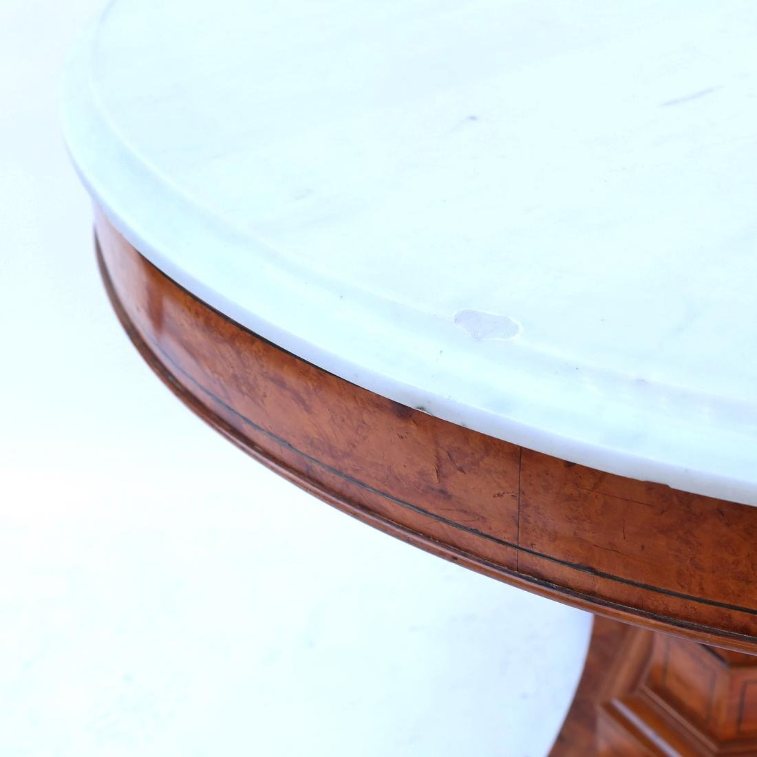 Marble Top Center Table - 4