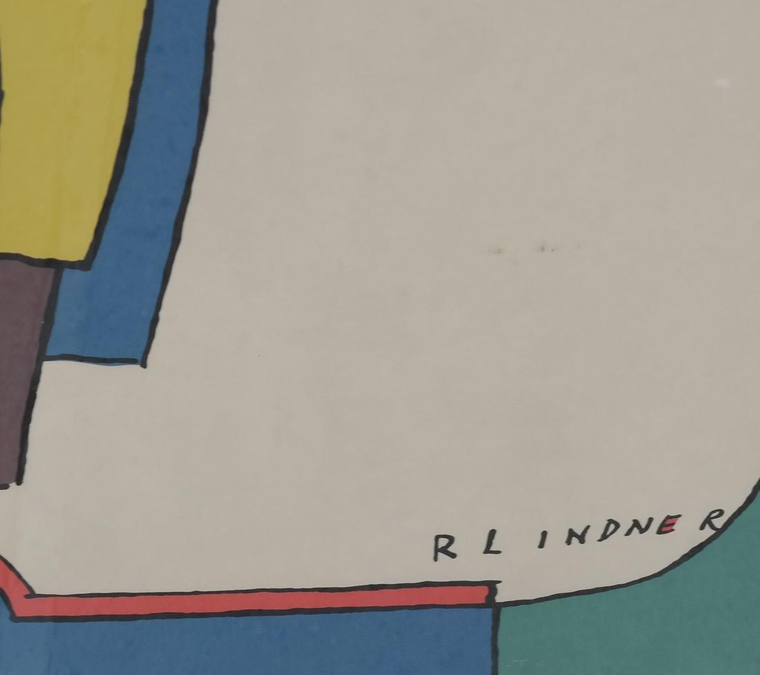 Richard Lindner Two Modernist Figures - 4