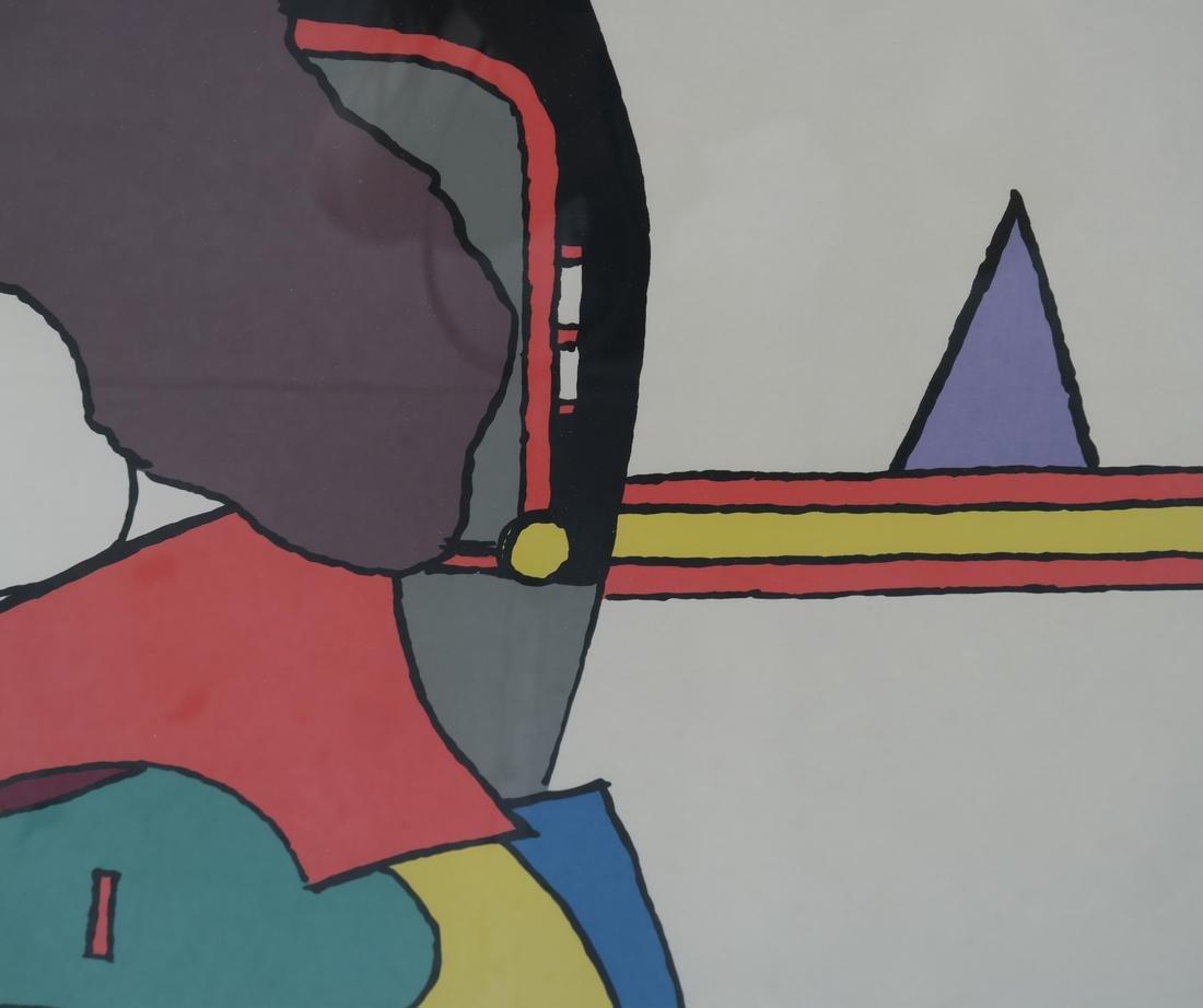Richard Lindner Two Modernist Figures - 5