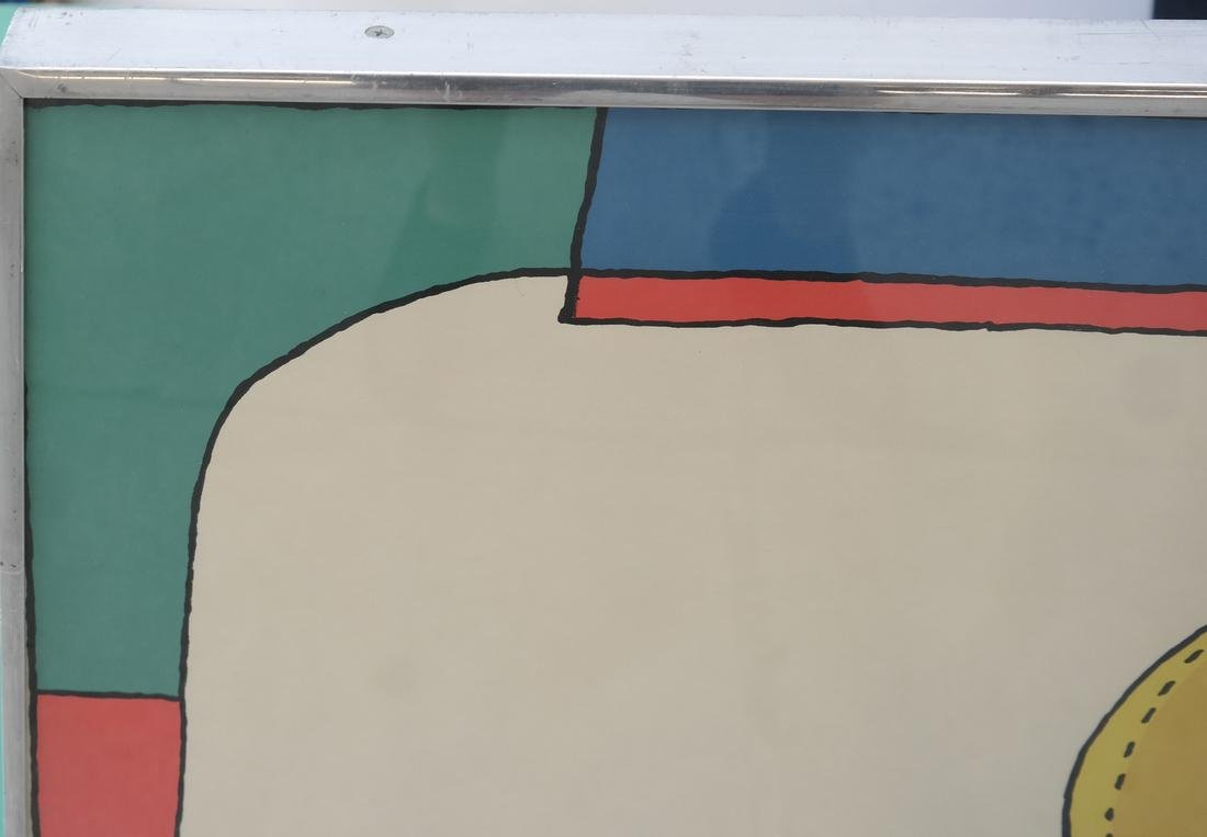 Richard Lindner Two Modernist Figures - 6