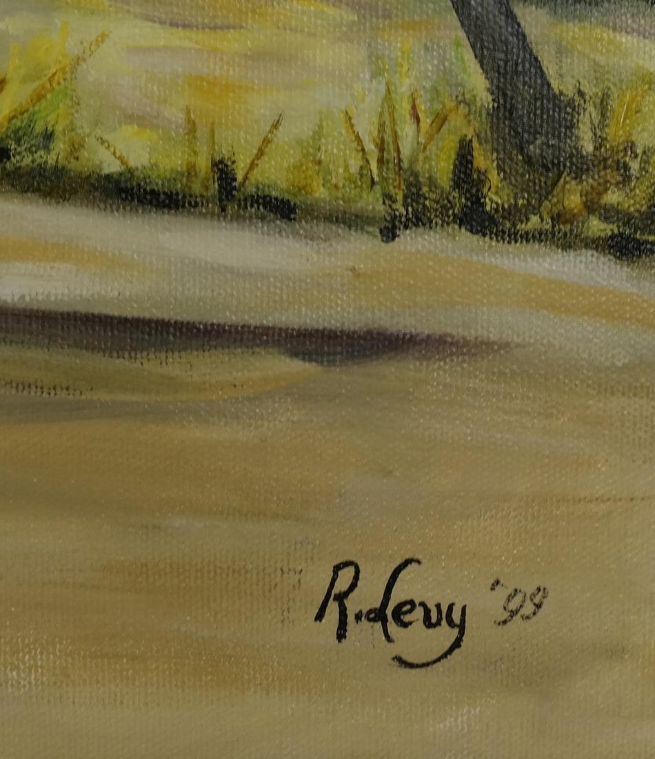 R. Levy, Equestrian Racing Scene - 3