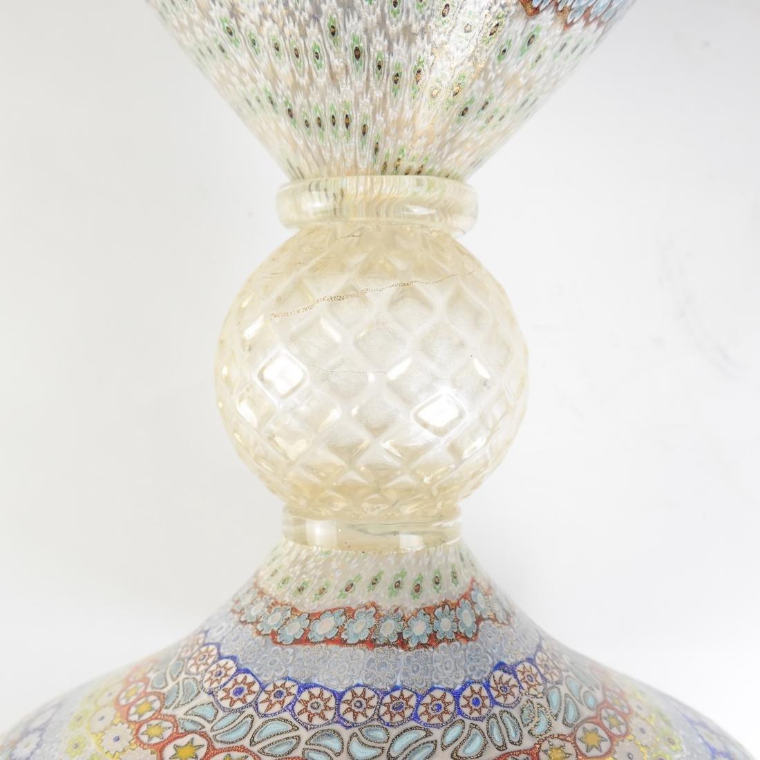 Murano Millefiori Glass Vase - 6