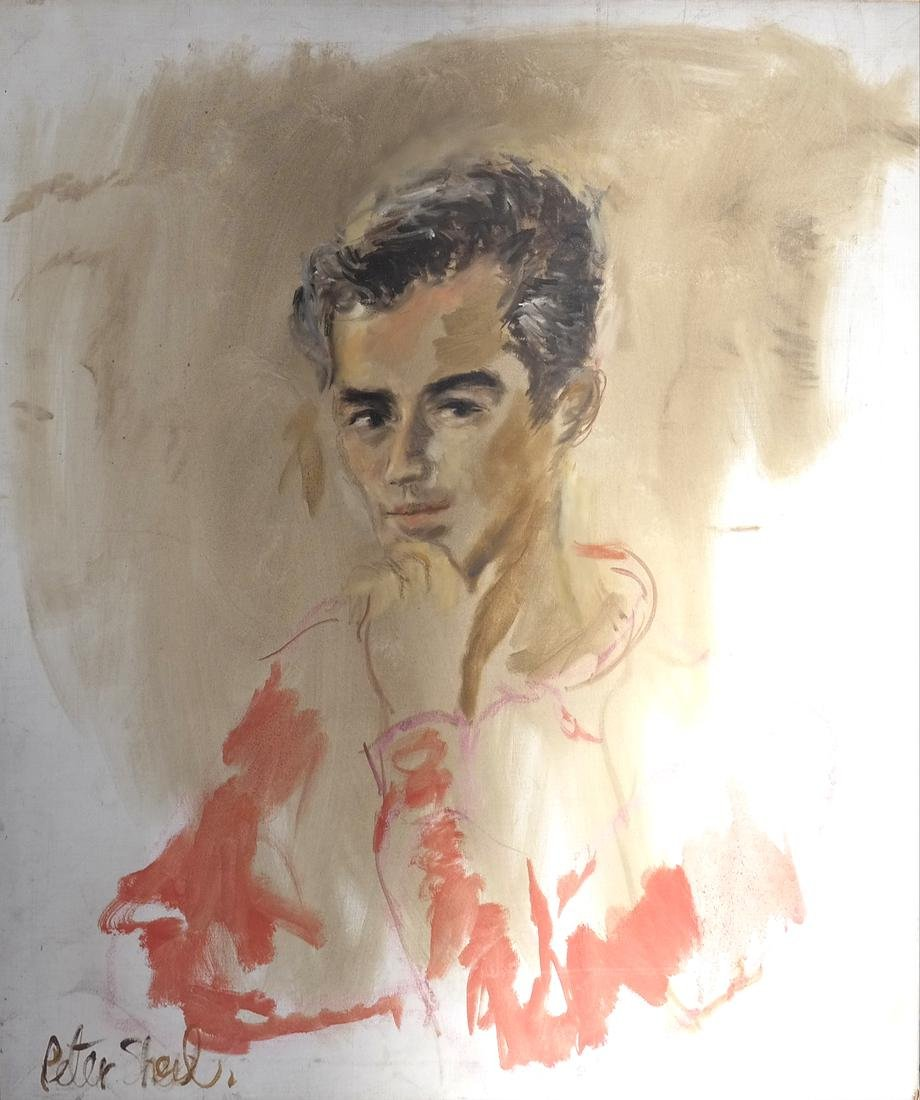 Peter Sheil, Portrait of A Man - 2