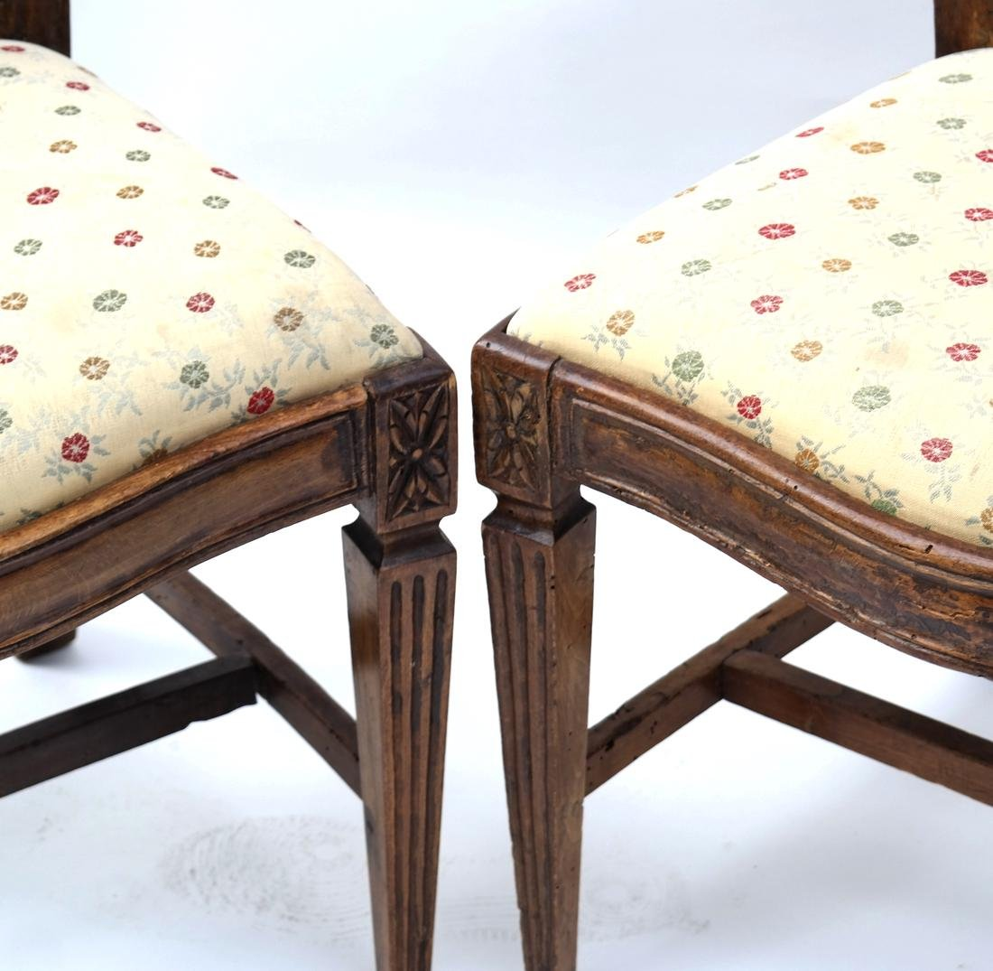 Two 19th Century Continental Side Chairs - 2