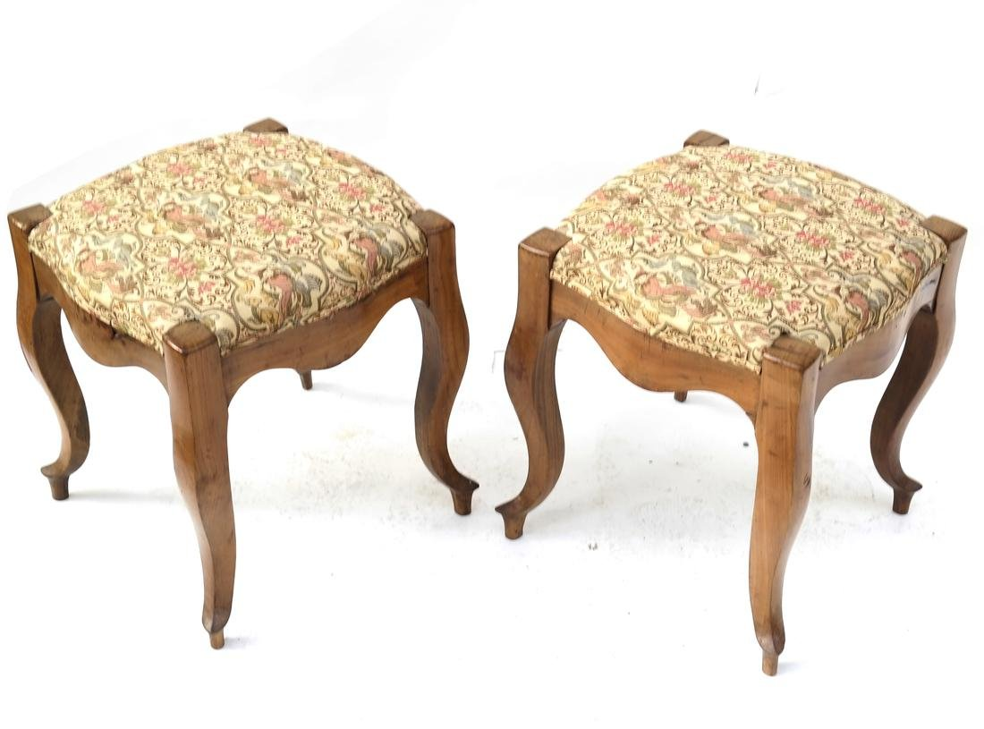 Pair of 19th Century Stools