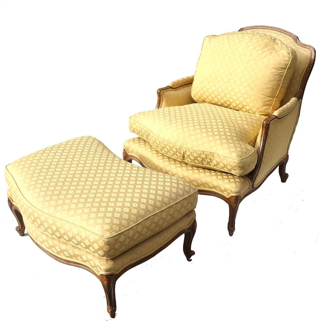 Two Part Provincial-Style Chaise