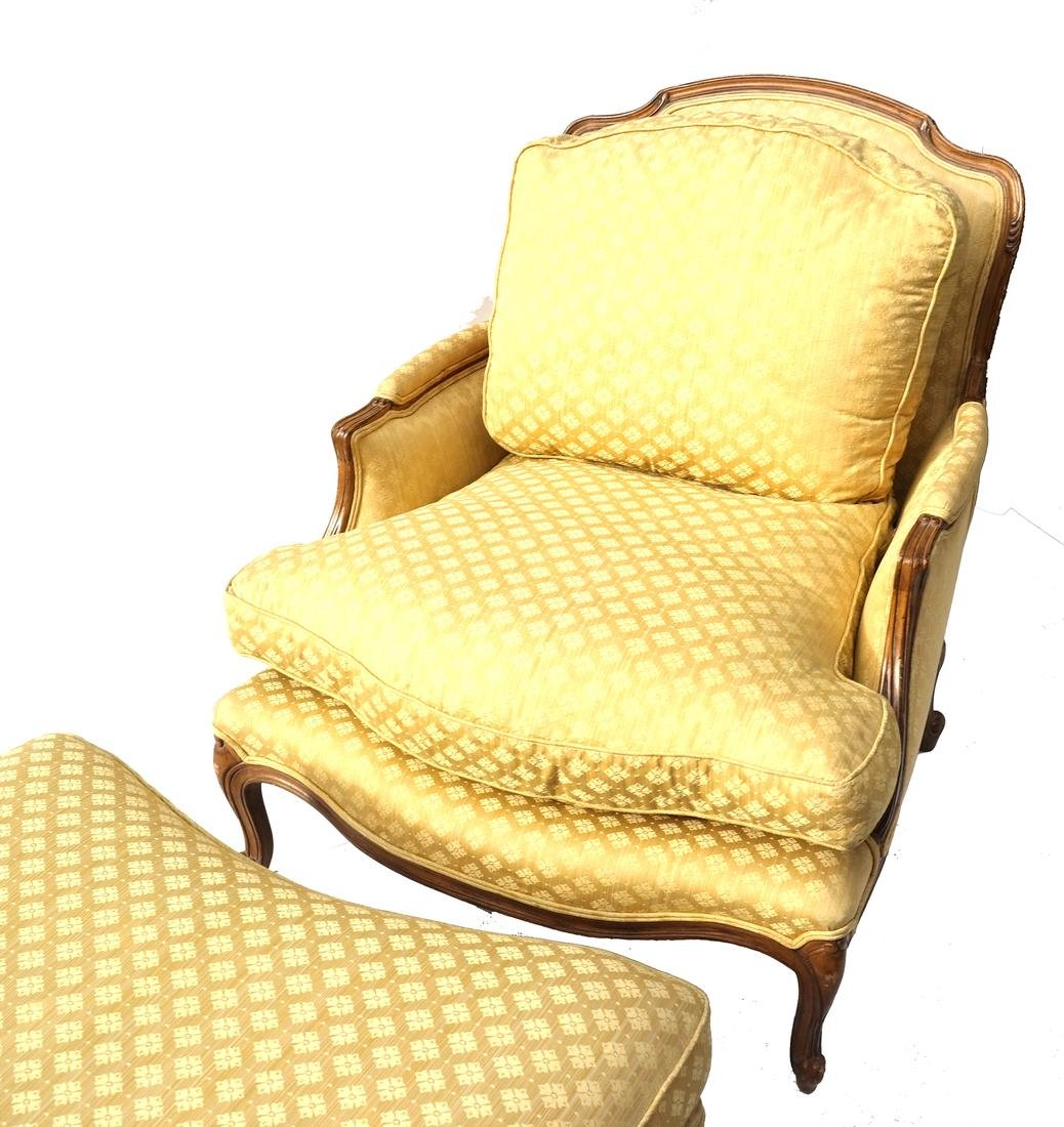 Two Part Provincial-Style Chaise - 2