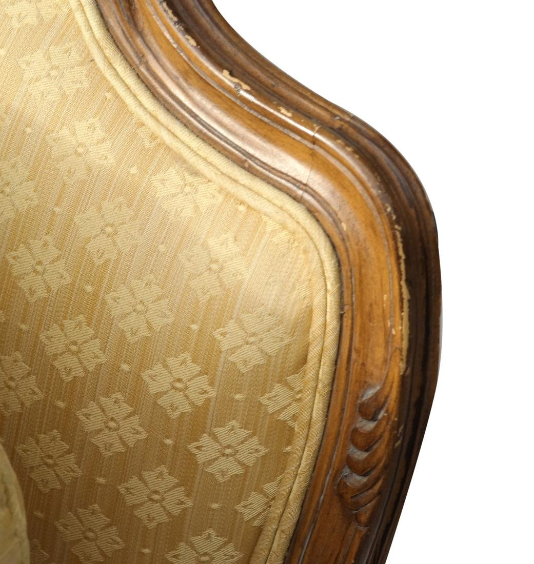 Two Part Provincial-Style Chaise - 6