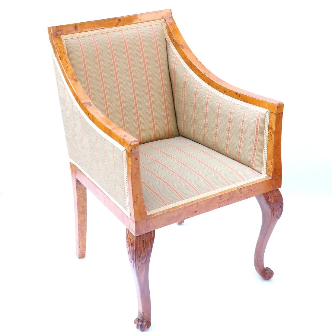 Pair of Transition Maple Armchairs - 2