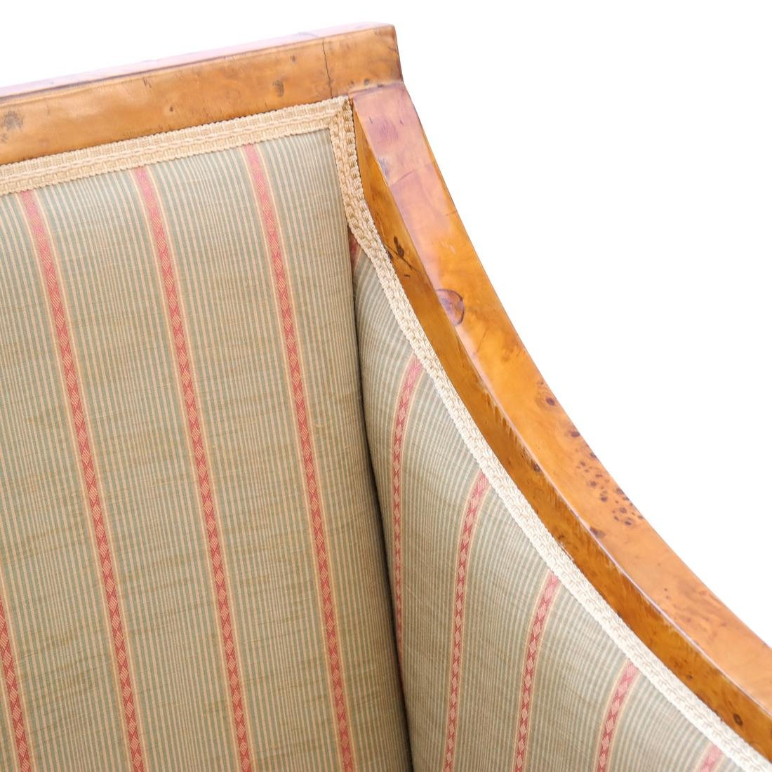 Pair of Transition Maple Armchairs - 5