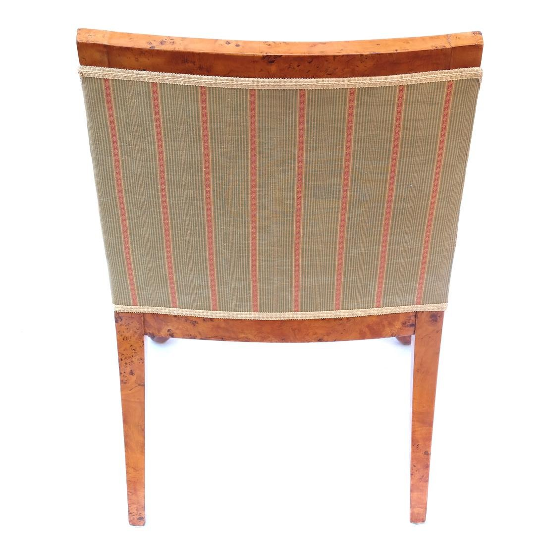 Pair of Transition Maple Armchairs - 6
