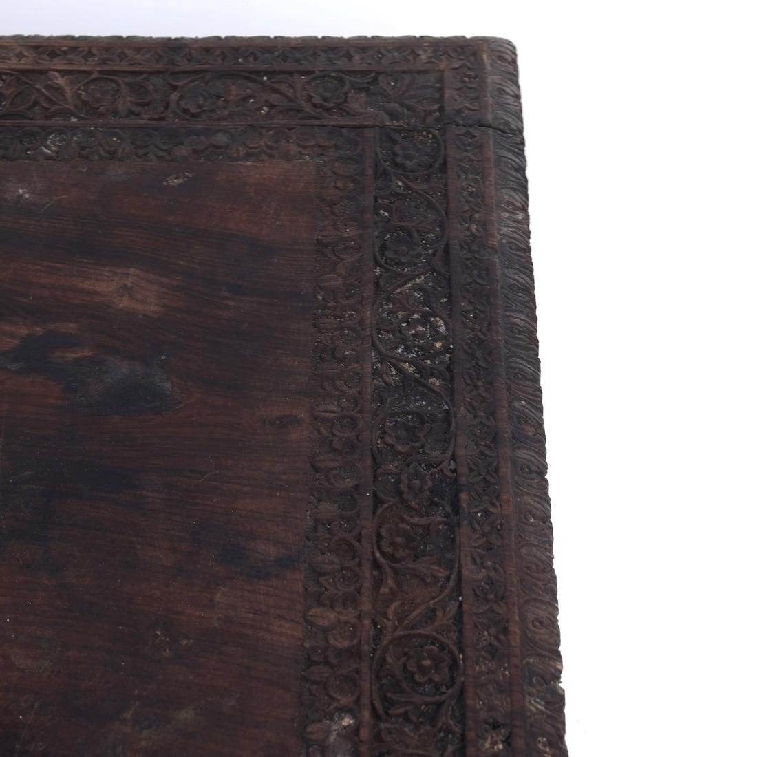 Victorian Carved Wood Table - 4