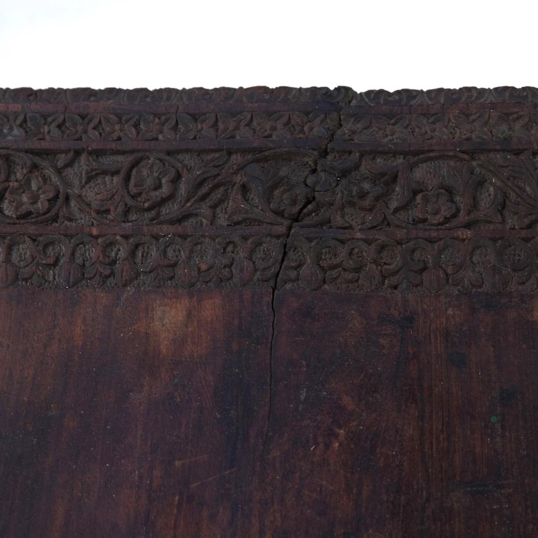 Victorian Carved Wood Table - 6