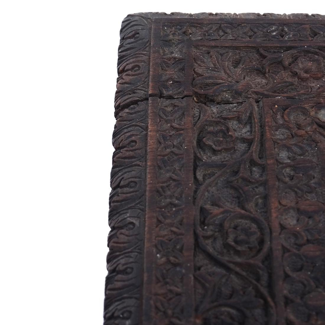 Victorian Carved Wood Table - 8