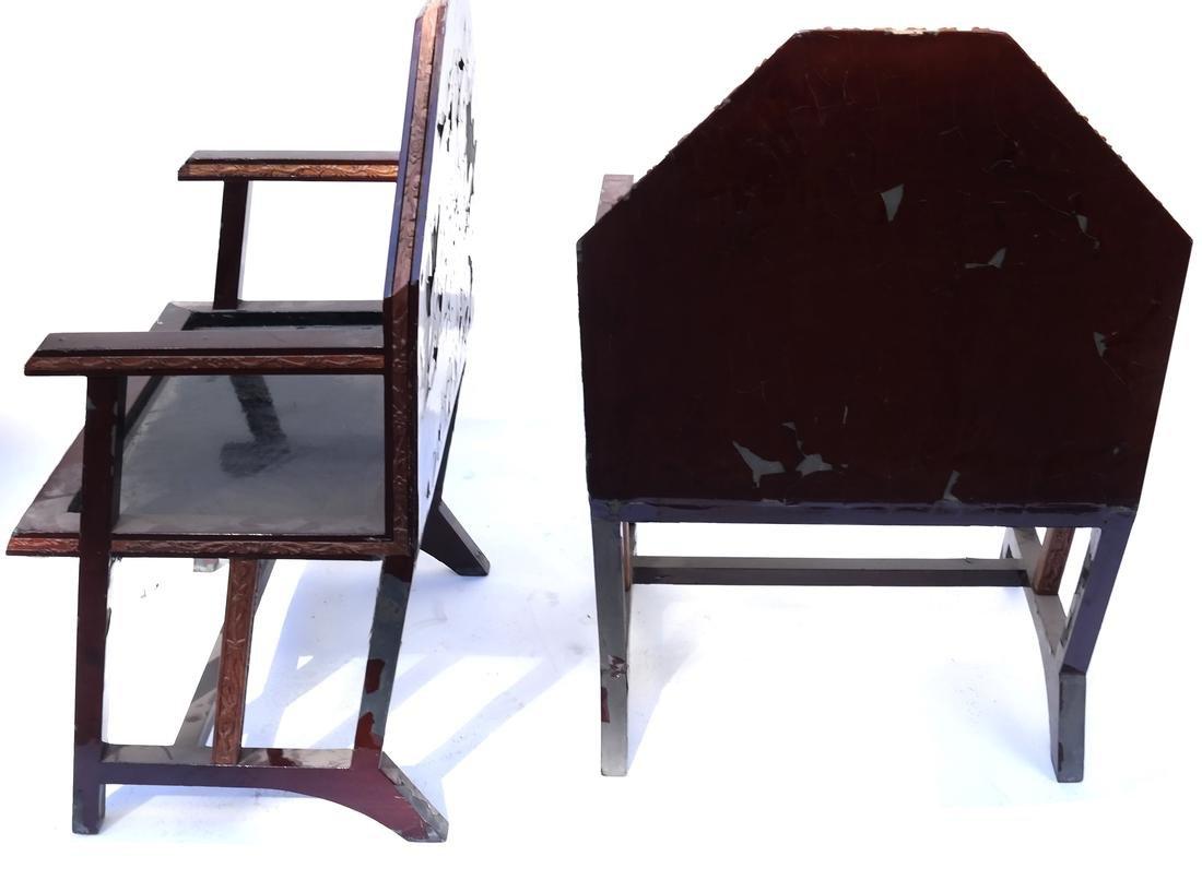 Pair of Art Deco Armchairs - 10