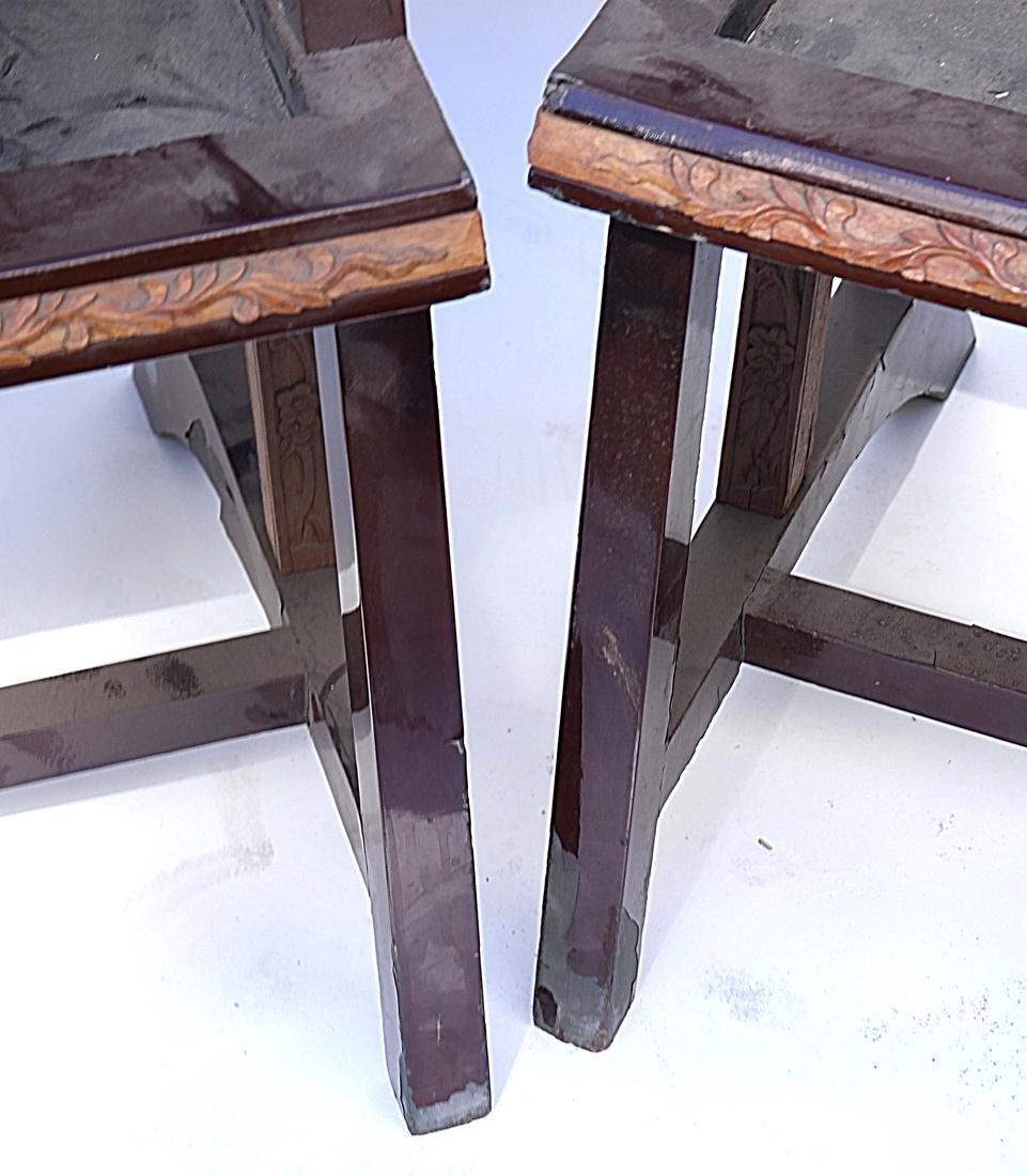 Pair of Art Deco Armchairs - 3