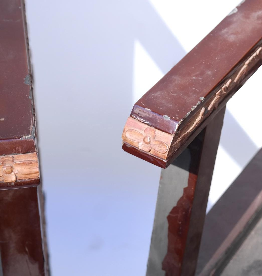 Pair of Art Deco Armchairs - 7