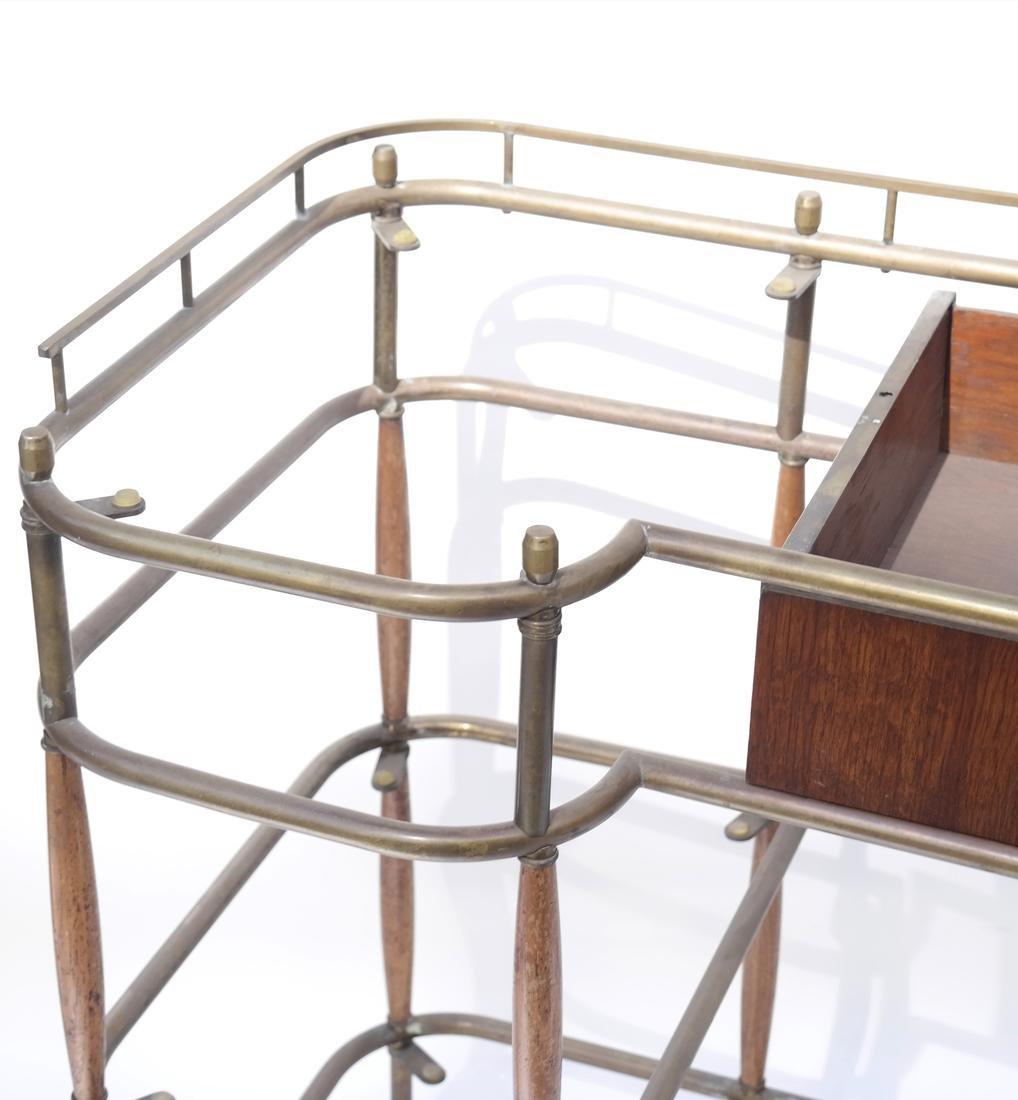 Brass Tubular Desk Frame - 3