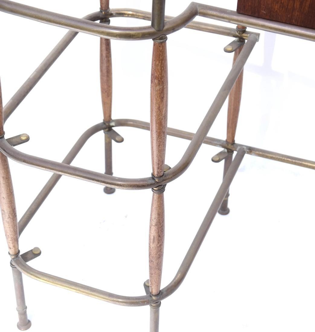 Brass Tubular Desk Frame - 4