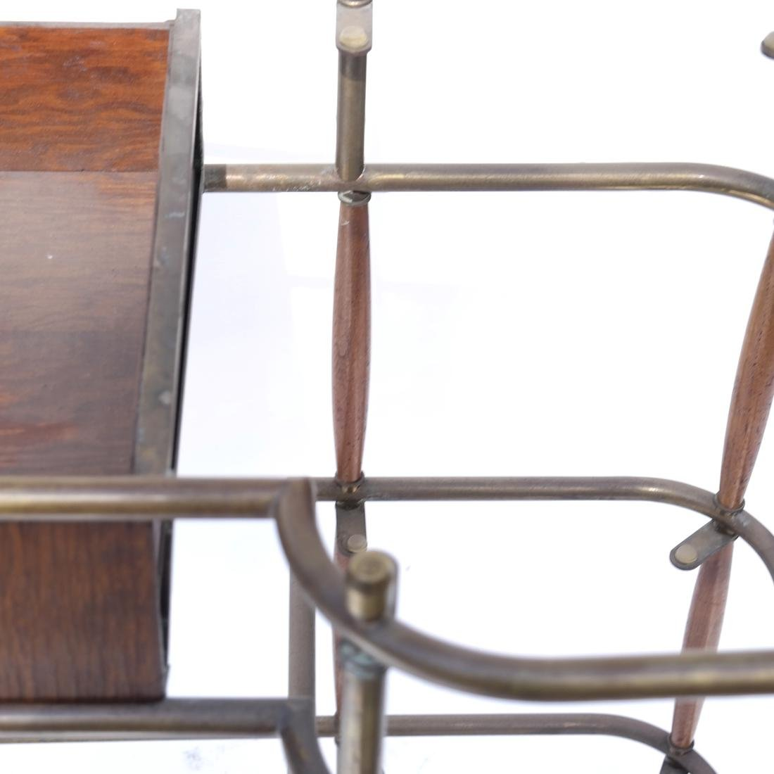 Brass Tubular Desk Frame - 5
