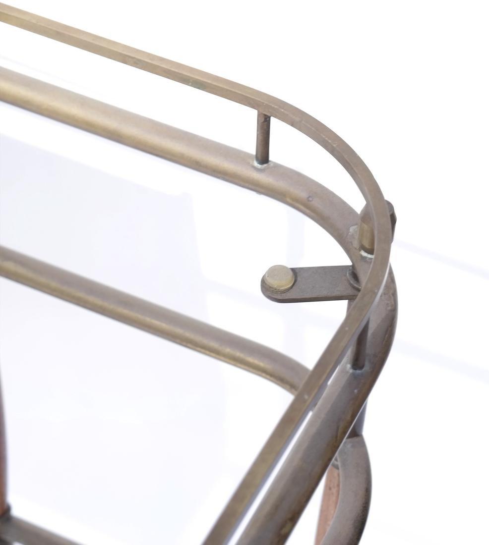 Brass Tubular Desk Frame - 6