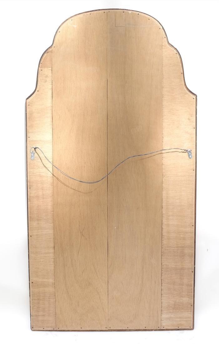 Gilt Wood & Cobalt Glass Framed Mirror - 7